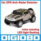 a6 hummer Auto Radar Laser detector Russinan Speaking vehicle speed control detector Radar detector