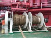 20ton double drum mooring winch