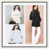 new arrival long style dust coat for women