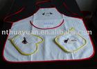 3pcs embroidered cotton kitchen set