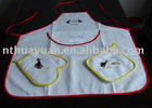 3pcs embroidered cotton kitchen set