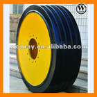 sinter mixer Solid tires with Rims