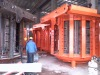 40t medium frequency induction melting furnace