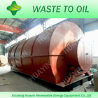 High Quality rotary waste plastic pyrolysis oil used machine