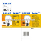 PS55 incandescent lights 100W E27/B22