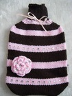 2012 hot water bottle with knitted cover