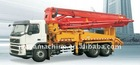 37 m Truck-mounted Concrete Pump