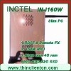 Thin pc mini pc with 1920*1080 32 bit with REMOTE FX RDP 7.0 Windows 7 XP XPE Linux preload optional thin client wireless