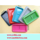Mixed Color Bumper Case Cover with Side Button for Iphone 4G 4