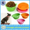 silicone dog bowl folding dog bowls animal feeders