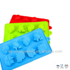 2013 food grade Colorful silicone ICE CUBES in Multi-shape of transportation tools
