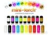 Rechargeable USB LED Lights Multi-color USB Portable Flashlight LED Mini Waterproof Flashlight