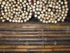 """Natural Black Bamboo Pole 5/6"""" (HL-BLBP2)"""