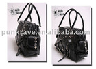 S-060 Leather Shoulder Handbag from PUNK RAVE