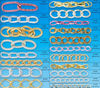 2012 Top Selling Fashion Costume Color Aluminum Chain