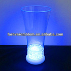 New popular led glass cup