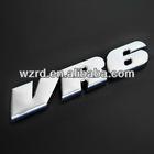 VW VR6 ABS 3D Auto Emblems