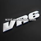 VW VR6 ABS 3D Auto Emblems