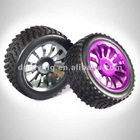 1/8 aluminum rc small trolley wheel