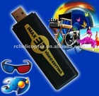 A870 New arrive 2D switch to 3D IMAX 3D video editing USB Video Audio Capture + 3D Glasses Free shipping