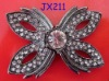 Black Butterfly Alloy Brooches Pin