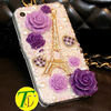 beatiful flower shape cell phone cases(CP-424)