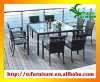 VENICE 8 seat rattan outdoor garden dining patio set