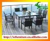 VENICE 8 seat rattan outdoor garden dining patio set