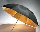 Hot sale 33inch Black and Golden Photo Reflector Umbrella,studio reflector umbrellas