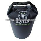 Factory plastic 10L dry bag black outdoor backpack water bag water resistant bag swimming bag