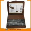 NEW!case for ipad 3 case & ipad 2 case,for ipad wirless bluetooth keyboard case,Genuine leather