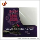 Four color printing adhesive sticker label