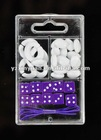 Dice Beads DIY in package for making bracelet
