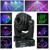 Unique Moving head 1.8 W Full color laser projector , Dj disco night club lighting RGB laser show