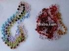 Rhinestone crystal rondelle spacer beads