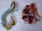 Rhinestone crystal rondelle spacer beads