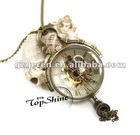 2012 Ebay Best Selling Clear Ball Mechanical Watch D00478o