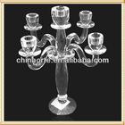 Table Decoration Candelabra For Crystal Wedding Favor