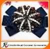 glass beads shoe flower