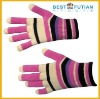 acrylic stripe magic gloves