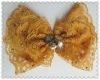 Garment ornament artificial flower for shoes/hair/wedding dress/kid's dress