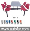plastic canteen tables and chairs