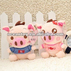 Cartoon lovely pig 12 seconds Voice Recording Plush Toys