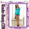 2012 Latest blue lace trim sexy lingerie