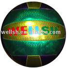 laser shine PVC volleyball,18 panels