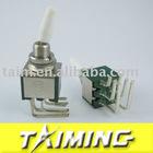 Miniature toggle swith KNX-2x2/C3 6mm