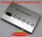 2012 hot selling Analog TV tuner receiver box