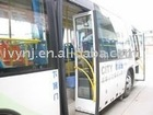 Pneumatic inward gliding bus door--City bus door
