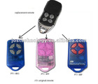 ATA PTX-4 Blue/Pink garage gate remote control, 433.92MHZ transmitter