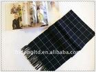 Inner Mongolia Ordos Men's weaving 100% merino wool wollen scarf